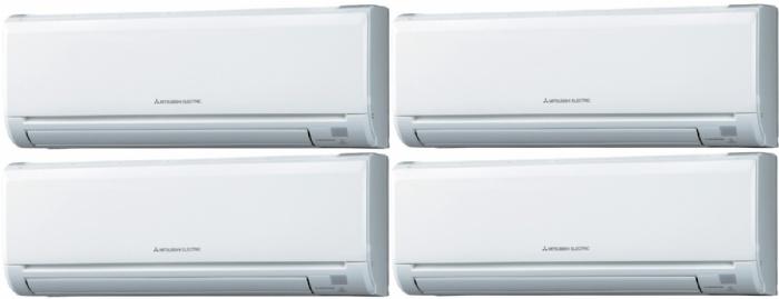 Mitsubishi mxz 5c100va msz ge25va msz ge50va climatiseur for Climatiseur mural mitsubishi