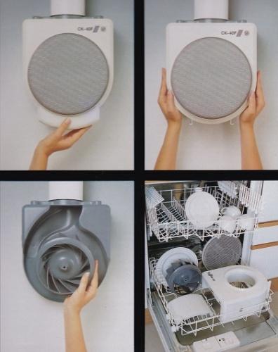 Unelvent ck40f extracteur d 39 air cuisine 500545 ck 40 f - Extracteur d air salle de bain diametre 80 ...