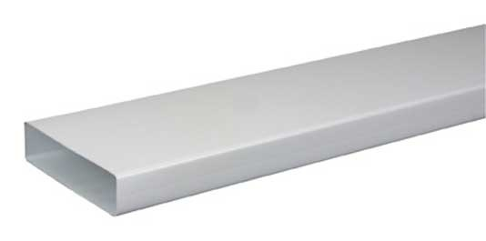 atlantic tr 55x220 tube rectangulaire pvc 3m 4 tubes 460007 tr 55x220 p. Black Bedroom Furniture Sets. Home Design Ideas