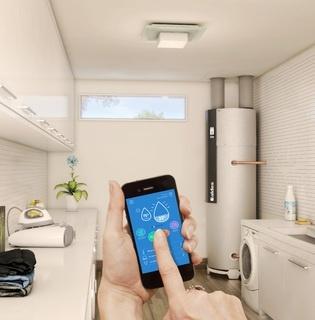 aldes t flow hygro connect chauffe eau thermodynamique 11023384 t flow hygro connect. Black Bedroom Furniture Sets. Home Design Ideas