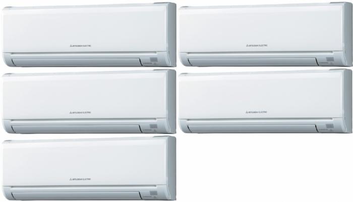 Mitsubishi mxz 5c100va msz ge25va climatiseur quintu split for Climatiseur mural mitsubishi prix