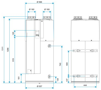 aldes t flow nano connect chauffe eau thermodynamique 11023396 t flow nano connect. Black Bedroom Furniture Sets. Home Design Ideas